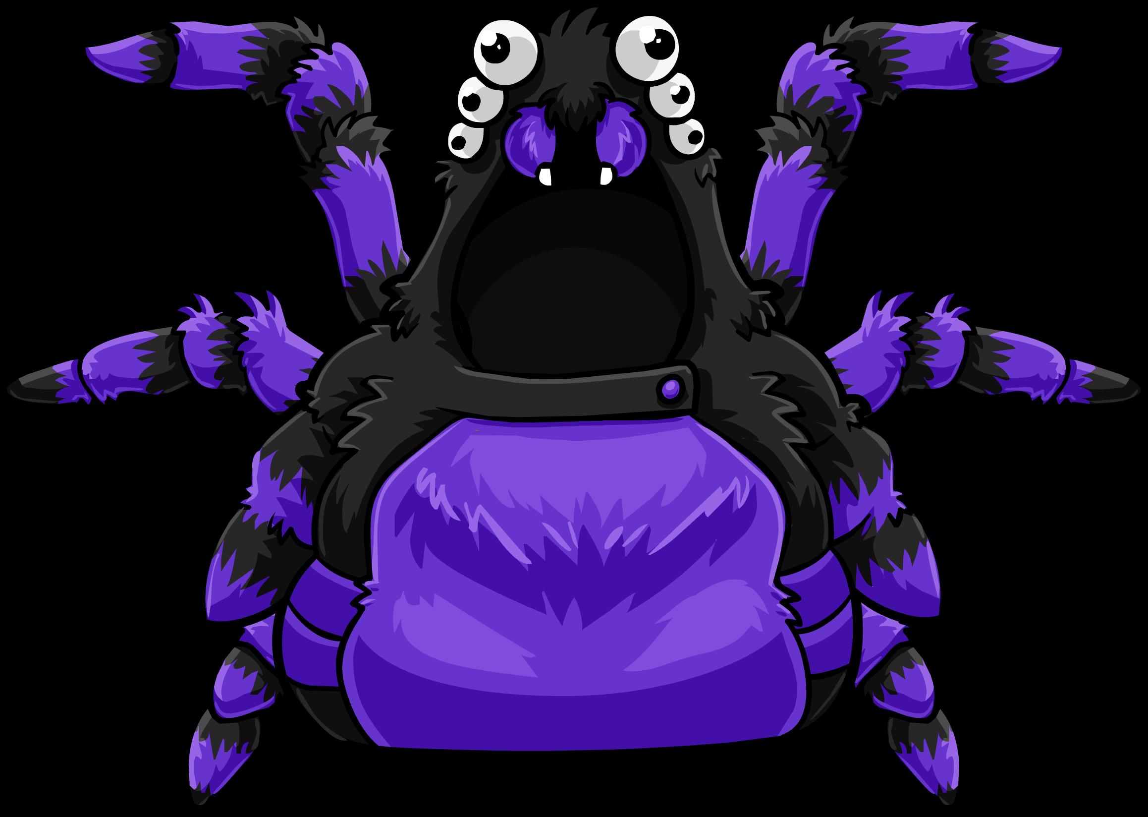Purple Spider Costume