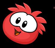 Red Puffle Cute2