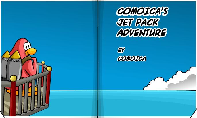 Comoica's Jet Pack Adventure