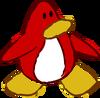 Doodle Dimension penguin Red