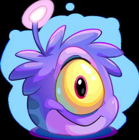 Puffle Extraterrestre Violeta