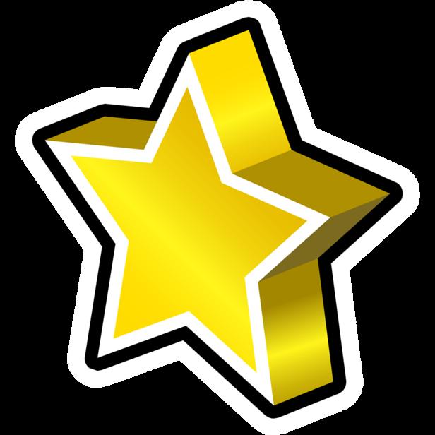 Pin de Estrella Dorada