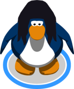 Cabello de pájaro negro juego