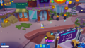 Halloween 2018 Island Central buildings 2