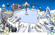 Puffle Party 2013 Ski Hill