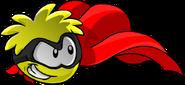 Yellow PuffleSuperhero