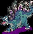 BlueStegosaurus