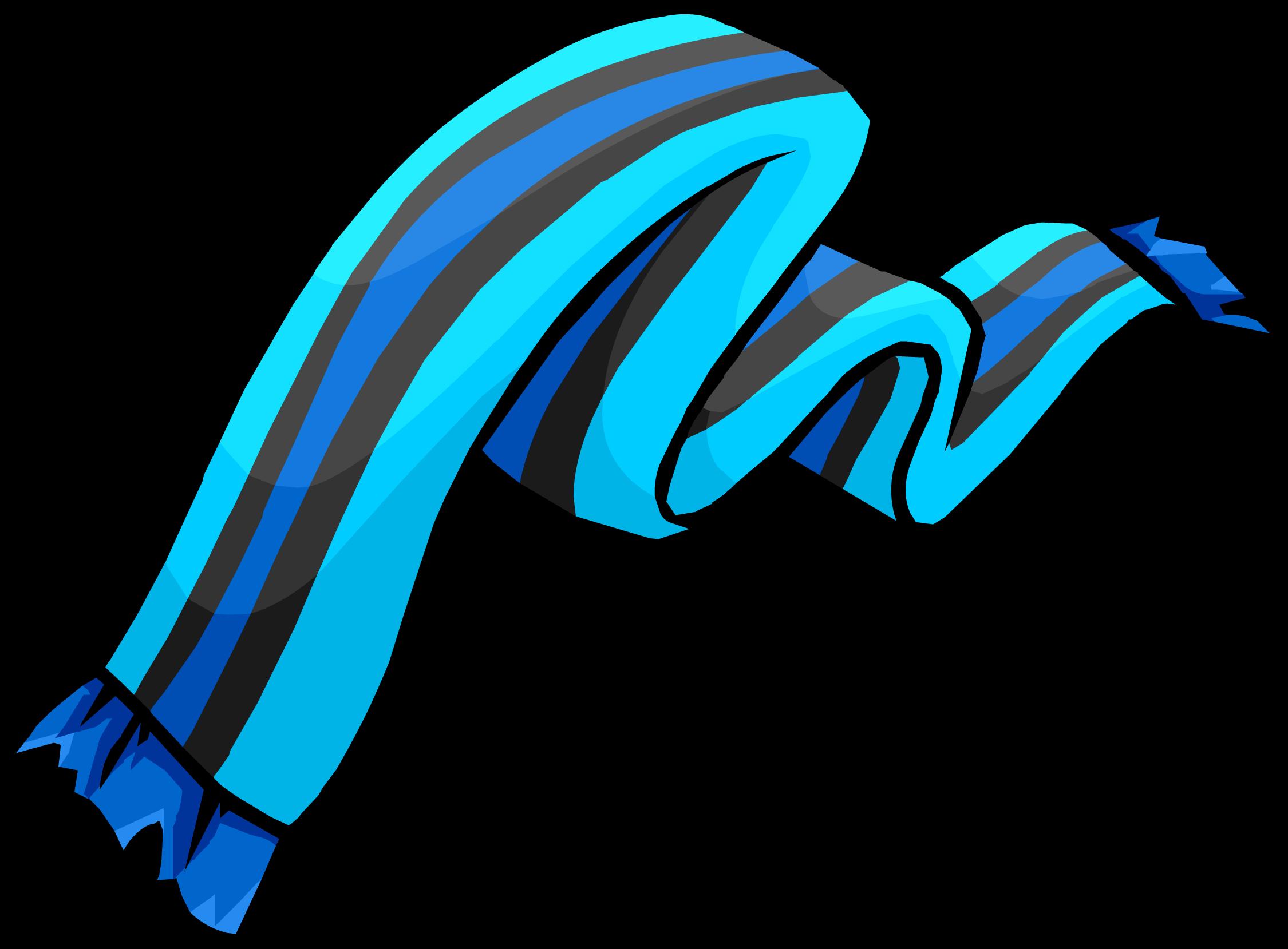 Blue Striped Scarf (ID 3012)