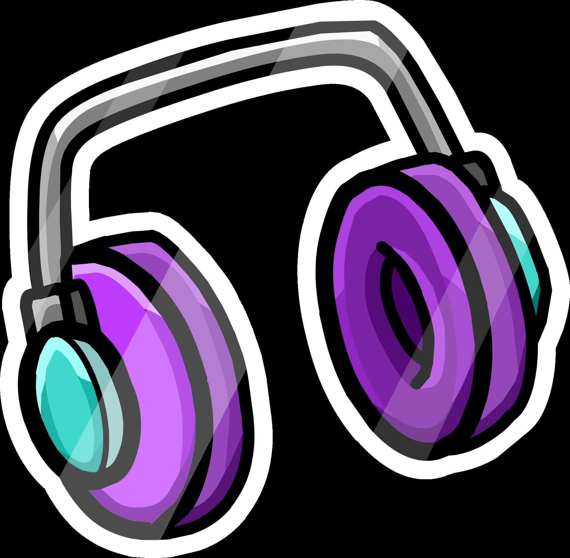 Headphones Pin
