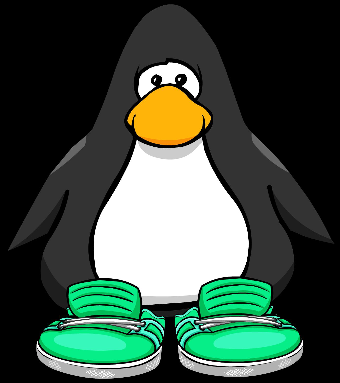 Aqua Sneakers