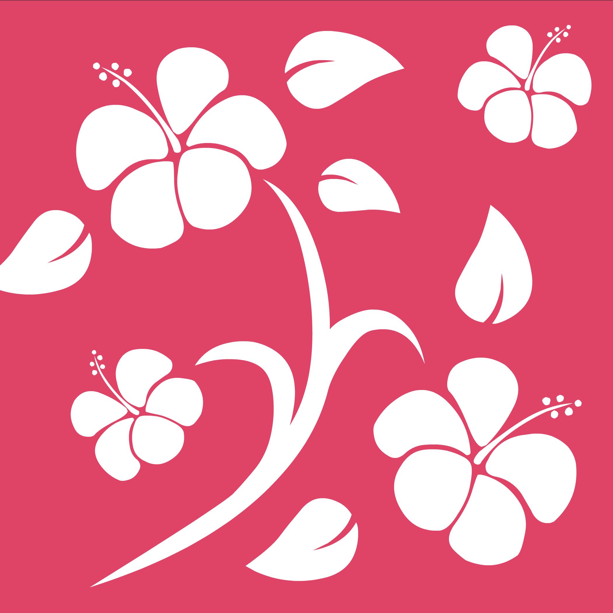 Fondo Hawaiano Rosa