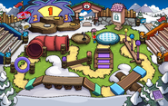 Puffle Party 2014 Ice Rink