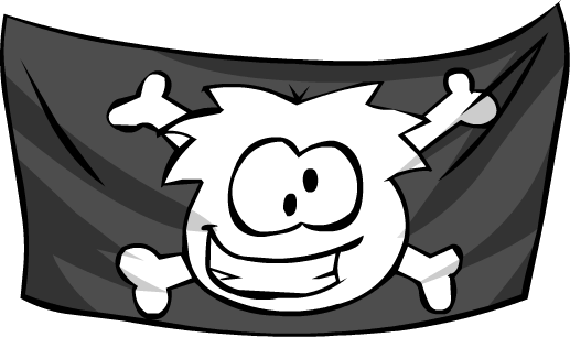 Bandera de Barco Pirata