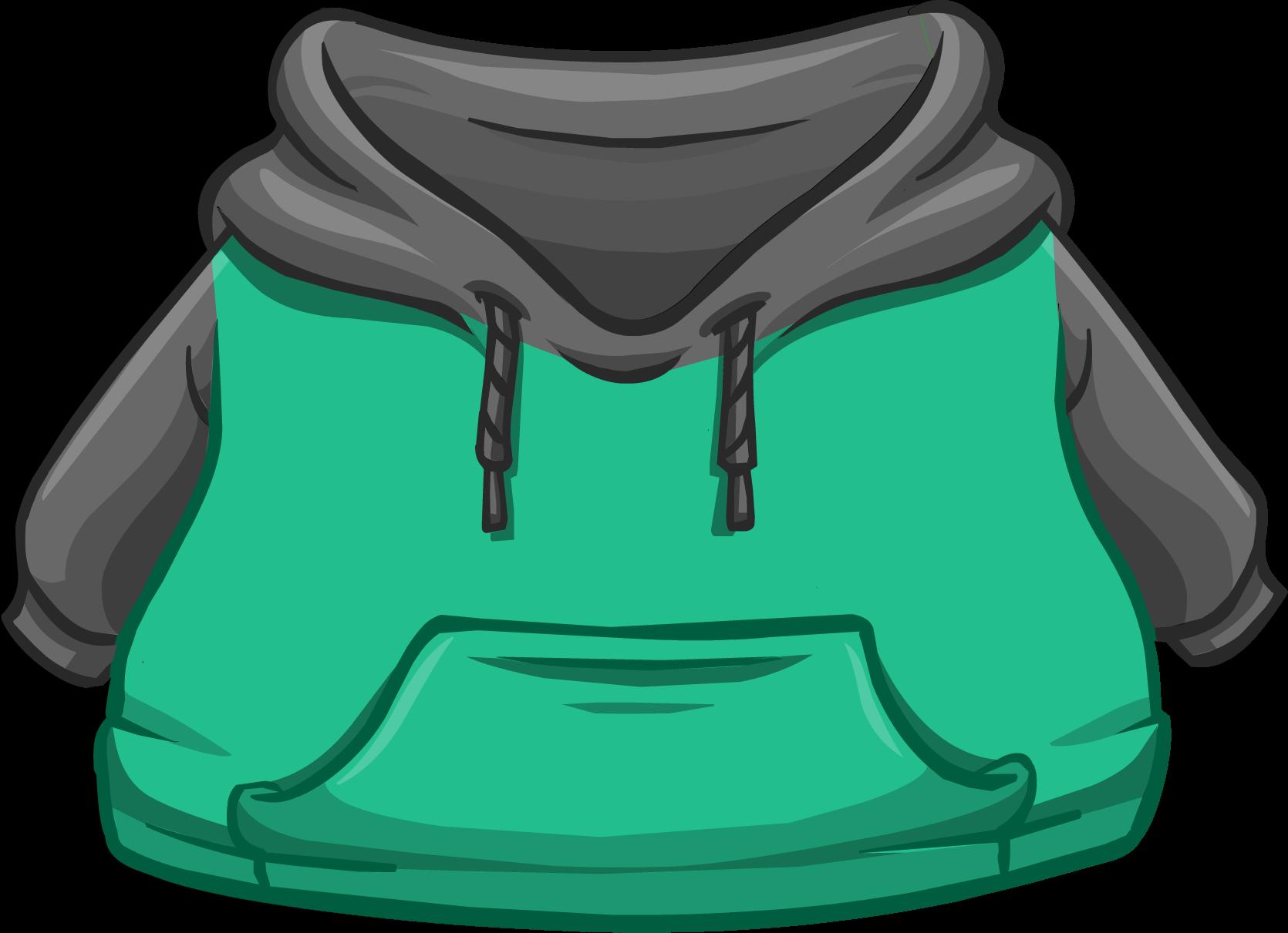 Cangurito Dos Tonos Verde y Negro