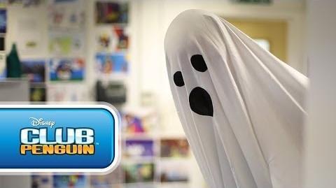 Club Penguin Halloween Party 2013 - Beware the Trick or Treat Door! CPTeam UK