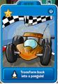Orange race cars