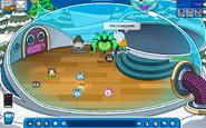 Yo,Luis y Spike en su iglu