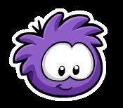 Pin del Puffle Violeta