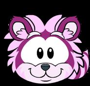 Puffle Mapache Rosa Igloo