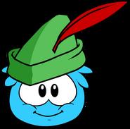 Sherwood Hat in Puffle Interface
