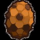 Prehistoric 2013 Eggs Triceratops Orange