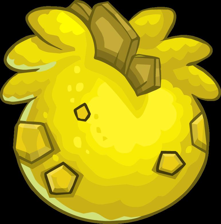 Huevo de Estegopuffle Amarillo