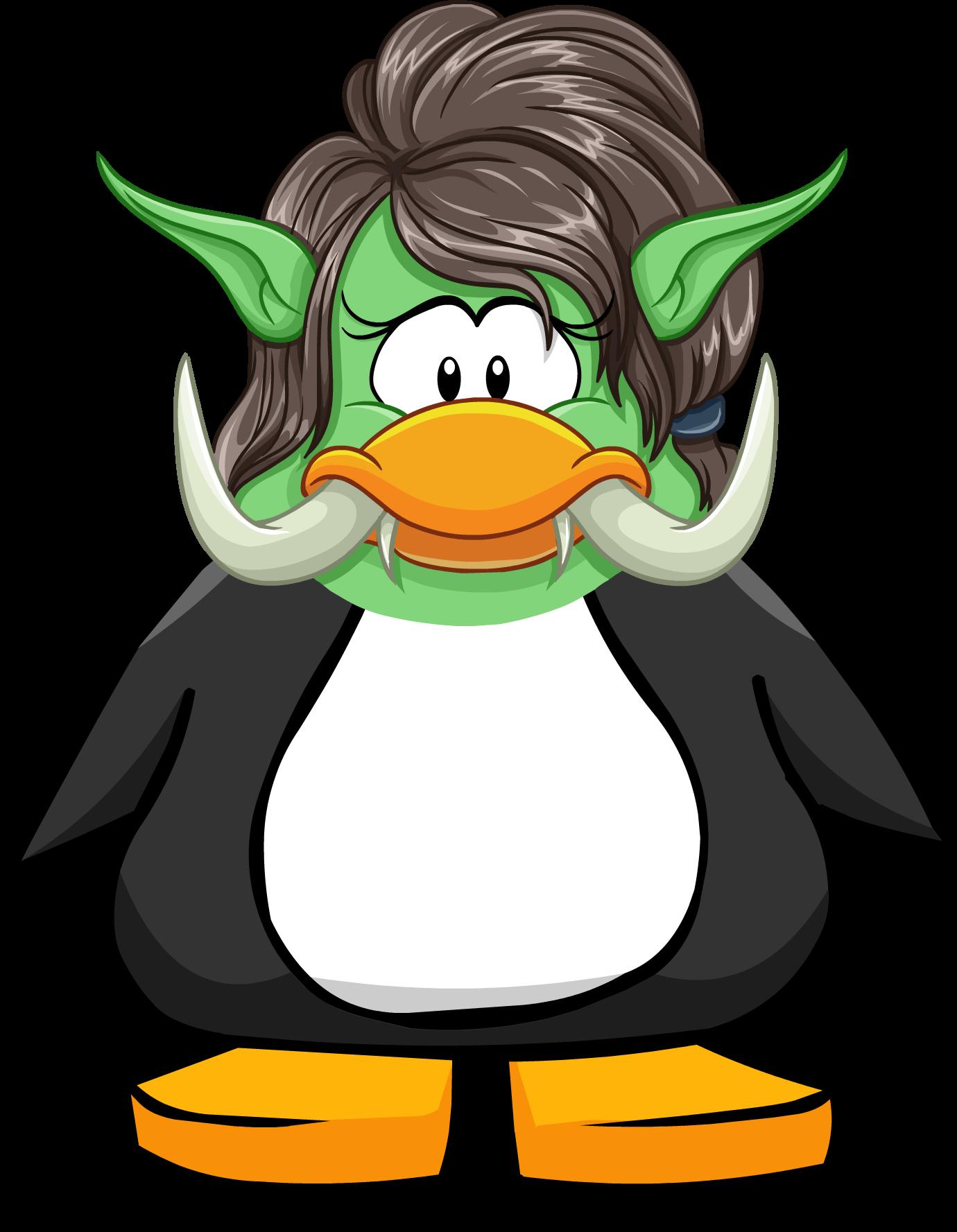 Tusked Ogre Head