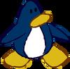 Doodle Dimension penguin Blue