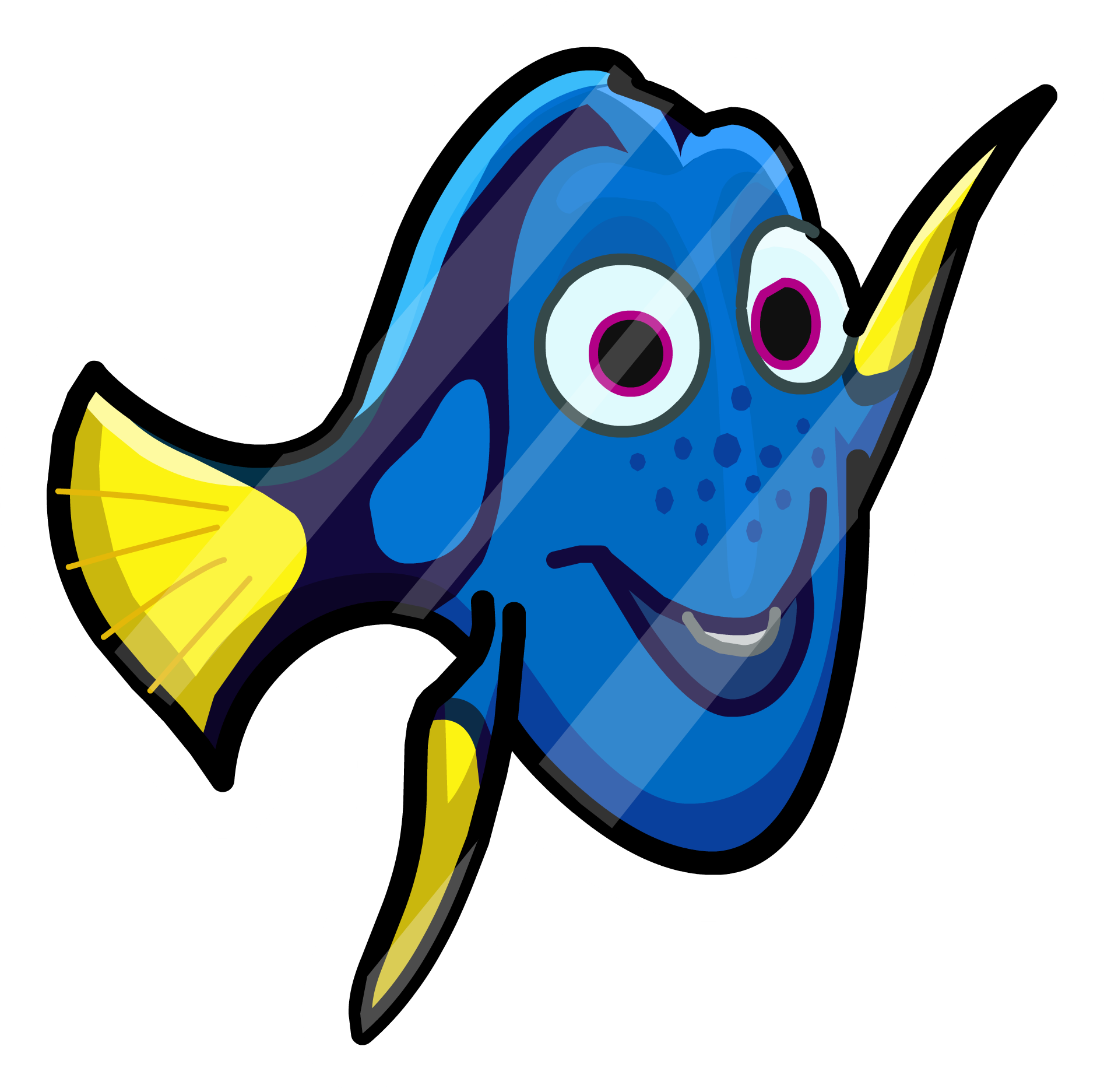 Finding Dory Pin