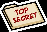 HQ Top Secret folder