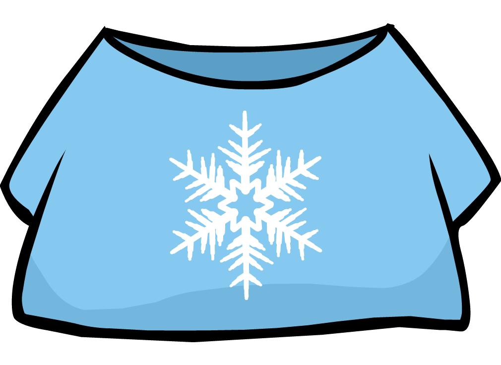 Camiseta Copo de Nieve