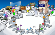 Puffle Party 2011 Snow Forts