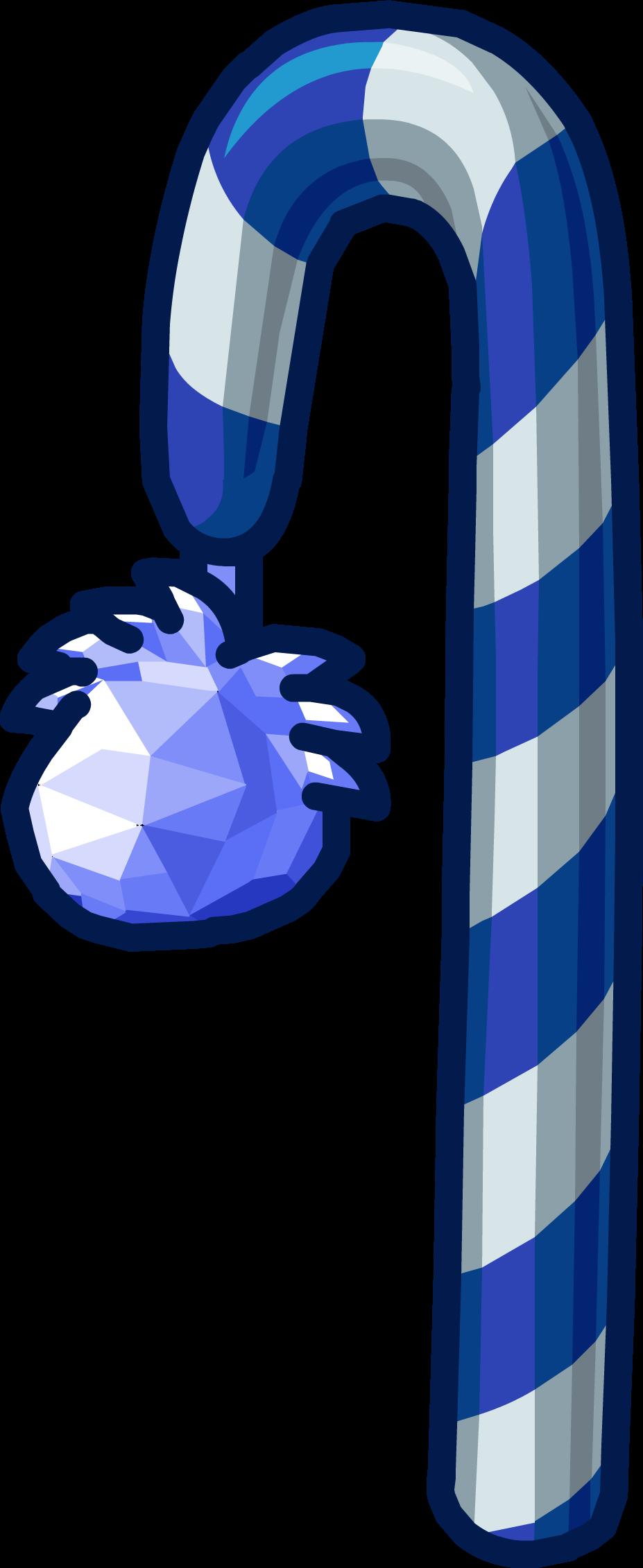 Bastón de Caramelo de Cristal