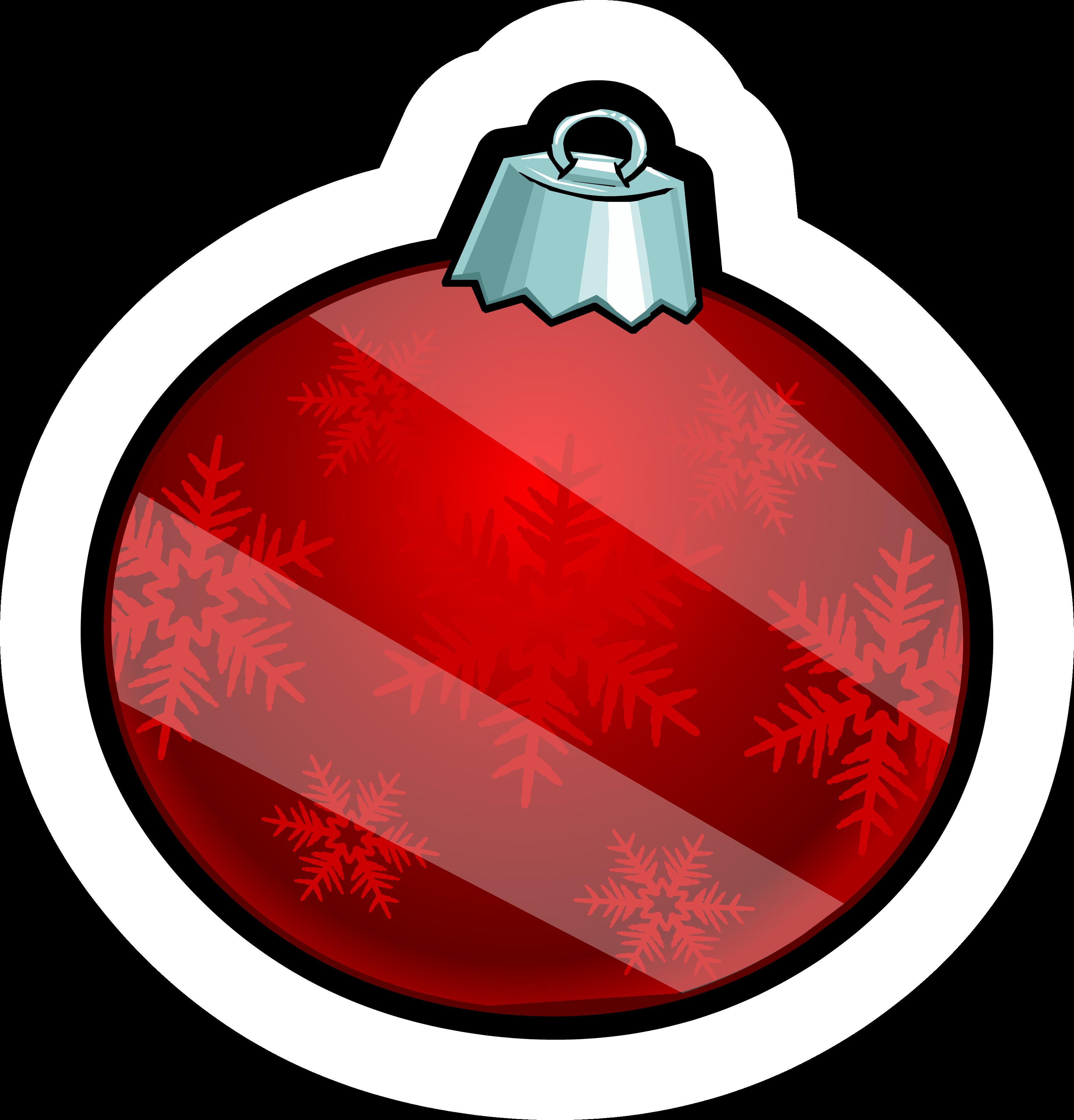 Holiday Ornament Pin