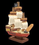 La Expedición Pirata Adelanto Modelo de Migrator