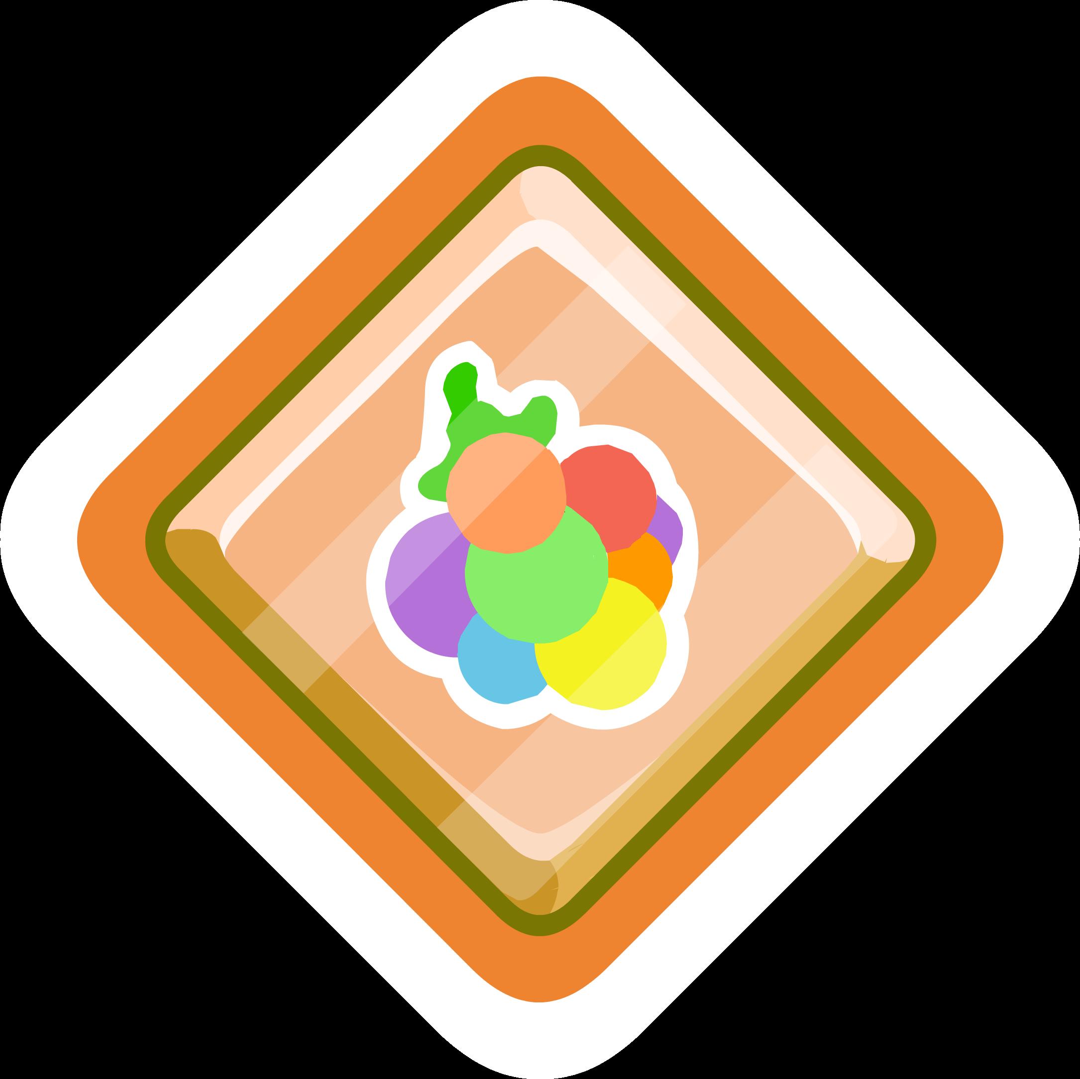 Pin de Puffito Multicolor