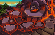 Prehistoric Party 2014 Volcano Entrance