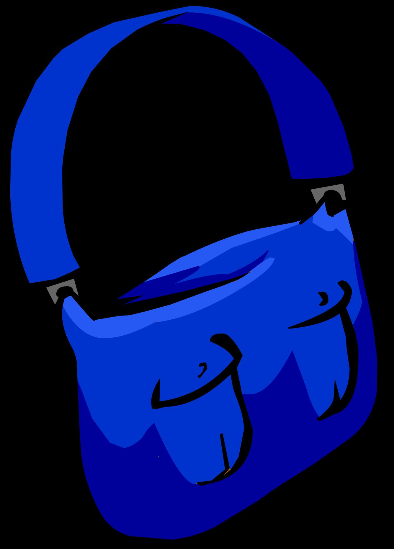 Blue Mail Bag