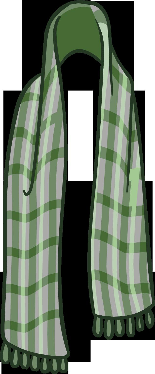 Bufanda Escocesa Verde