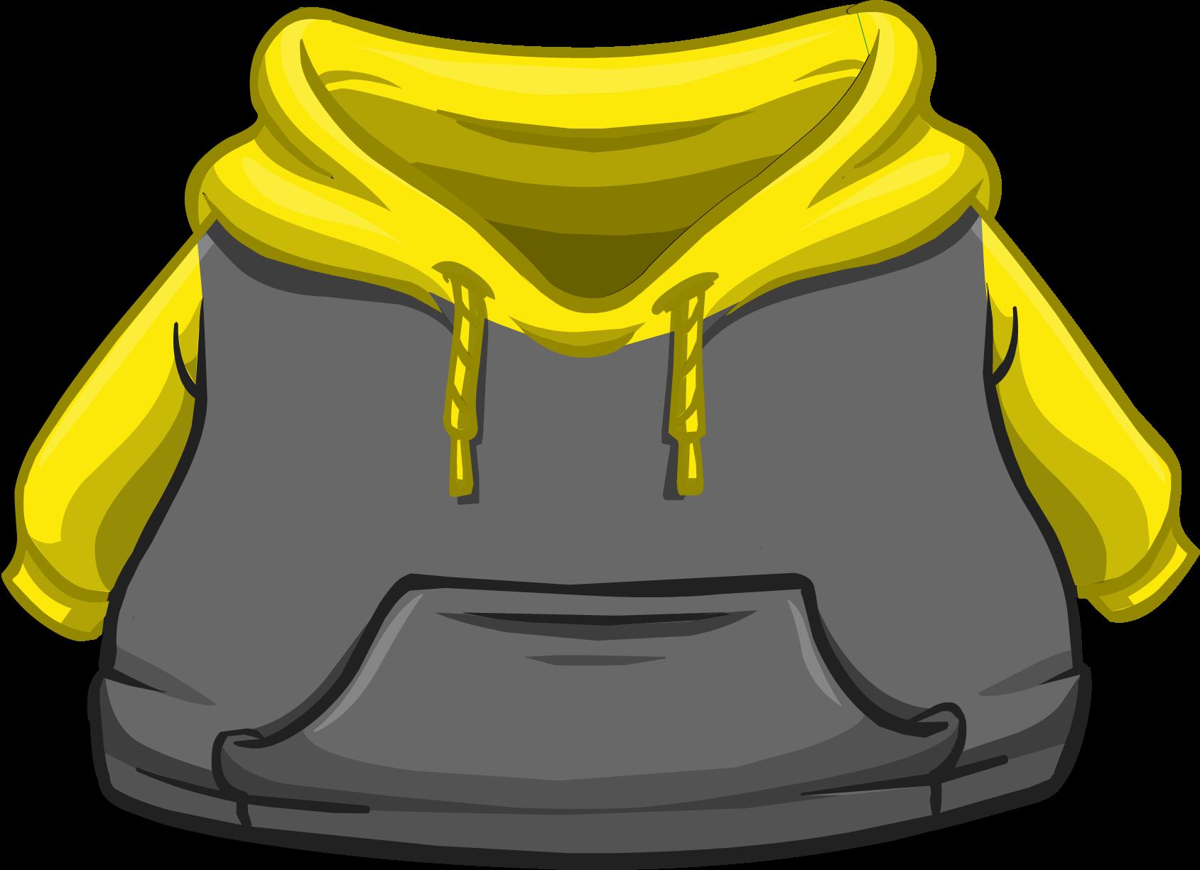 Cangurito Dos Tonos Amarillo y Negro