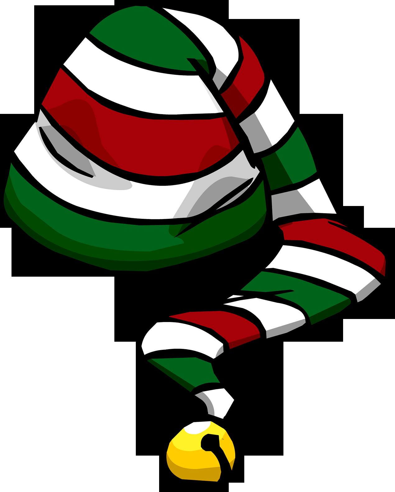 Sombrero Bastón de Caramelo