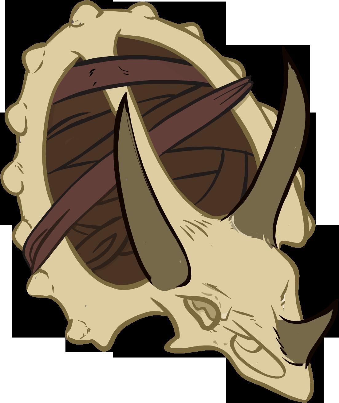 Dinoescudo de Cuero
