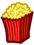 CPNext Emoticon - Popcorn