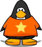 Star T-Shirt from a Player Card