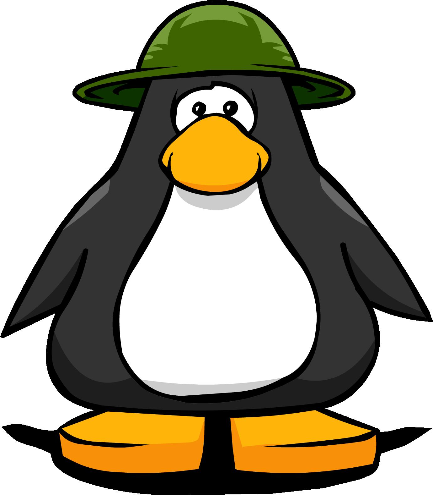 Green Safari Hat