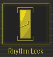 Rhythm lock in spy drills