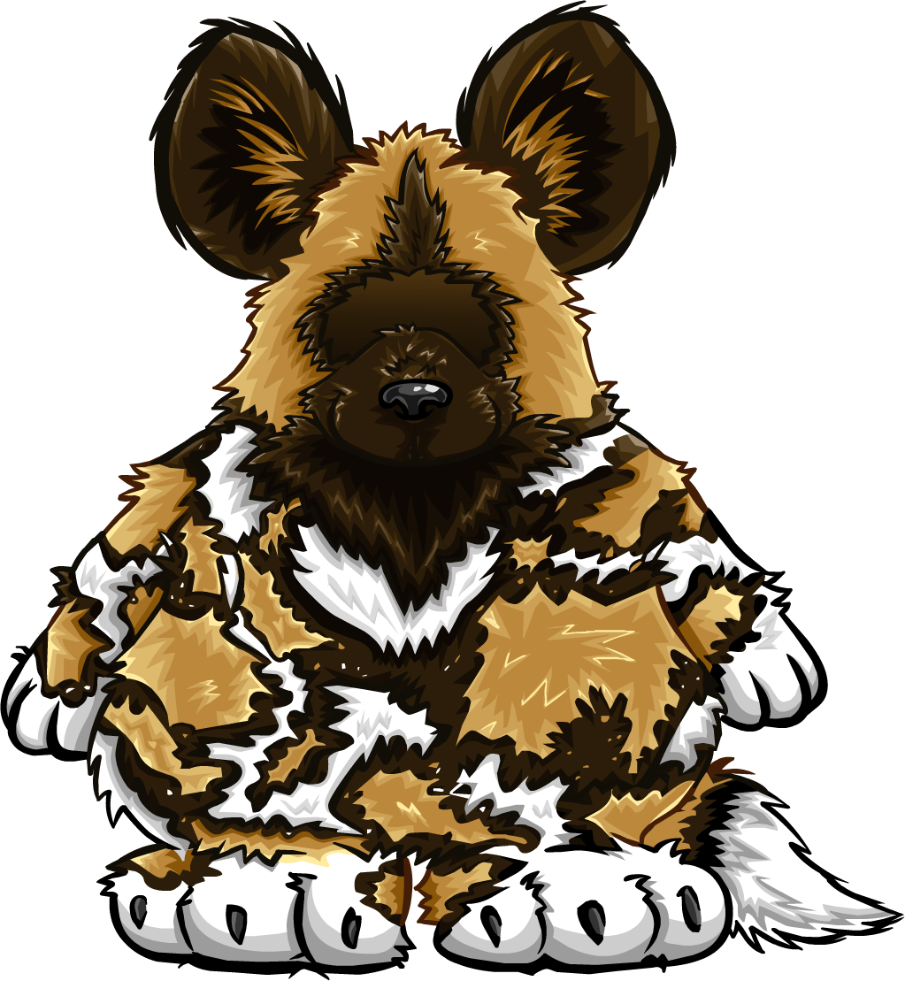African Painted Dog Costume