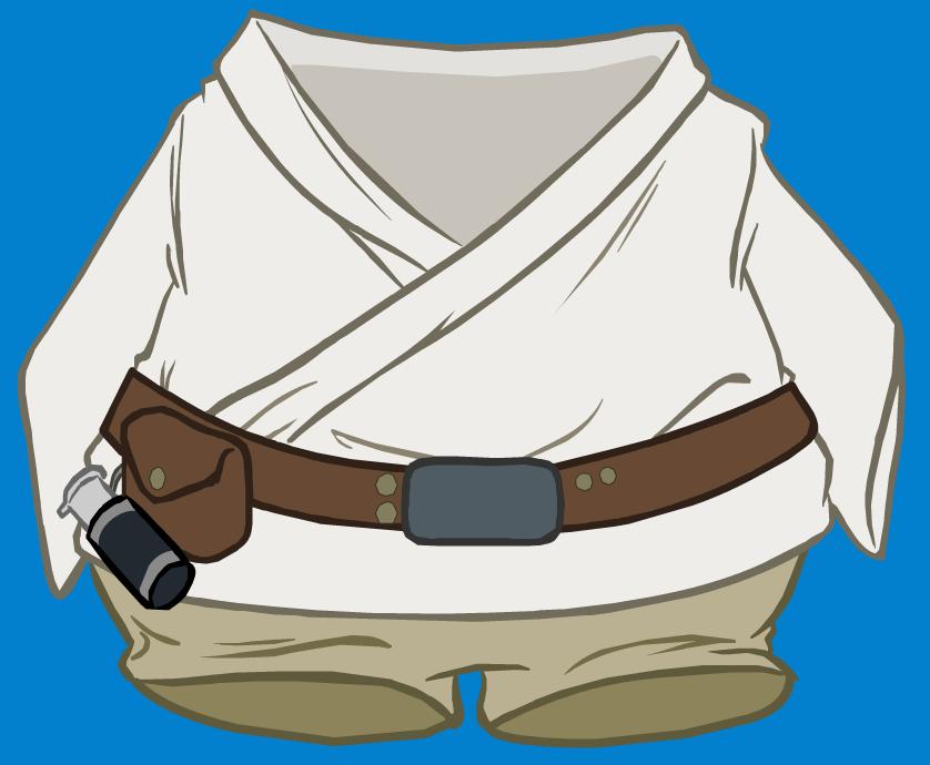 Conjunto de Luke Skywalker