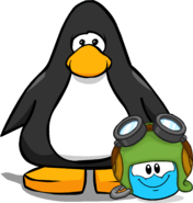 Puffle Hat Aviatorhat player card
