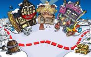 Rockhopper's Arrival Party Town